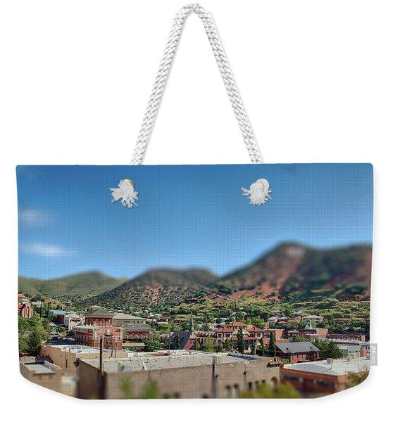 Bisbee Arizona Weekender Tote Bag