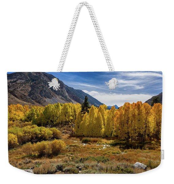 Bishop Creek Aspen Weekender Tote Bag