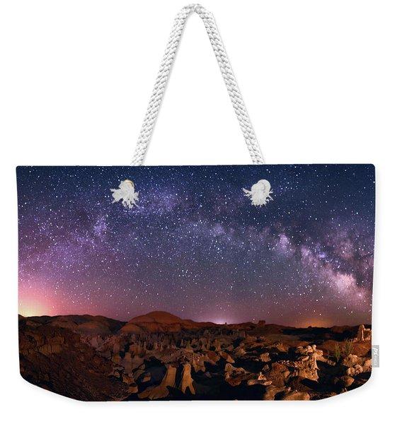 Bisti Badlands Night Sky - 2 Weekender Tote Bag