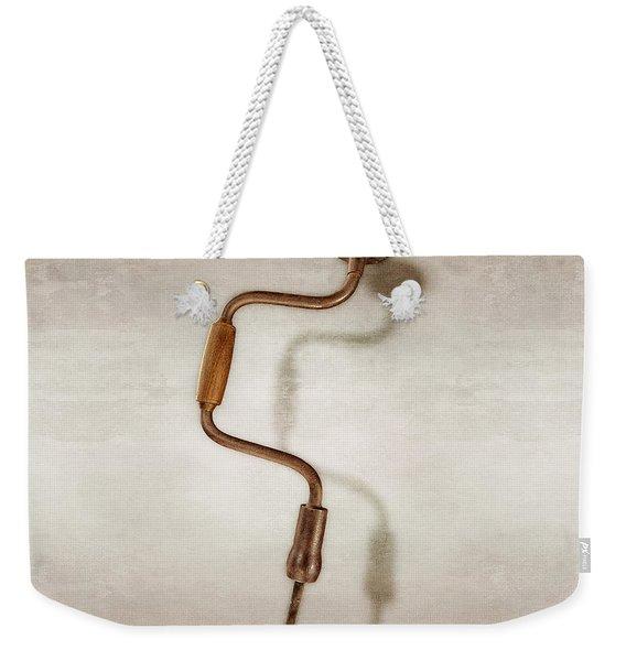 Bit Brace And Bit Weekender Tote Bag