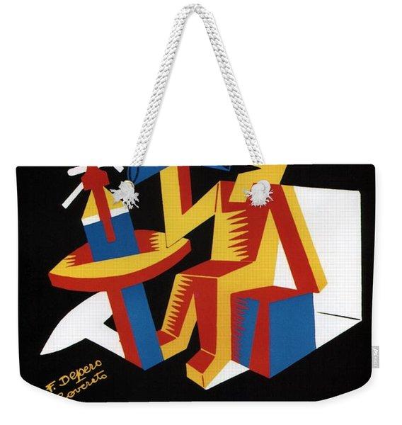 Bitter Campari - Aperitivo - Vintage Beer Advertising Poster Weekender Tote Bag