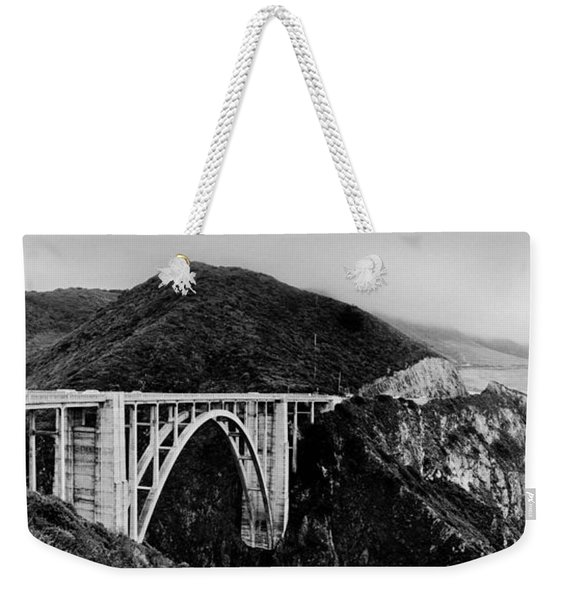 Bixby Bridge - Big Sur - California Weekender Tote Bag