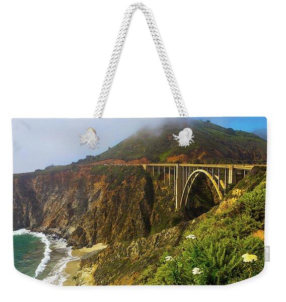 Bixby Bridge Big Sur Weekender Tote Bag
