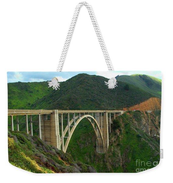 Bixby Bridge In Big Sur Weekender Tote Bag