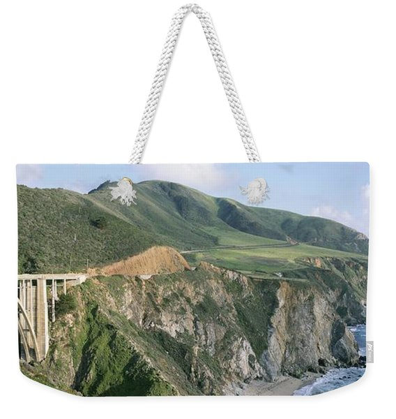 Bixby Bridge Over Bixby Creek Weekender Tote Bag