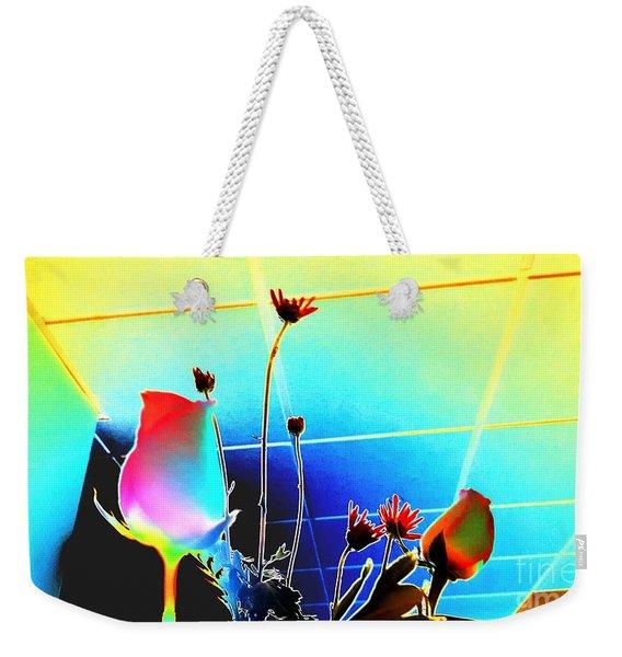 Bizarre Rising Weekender Tote Bag