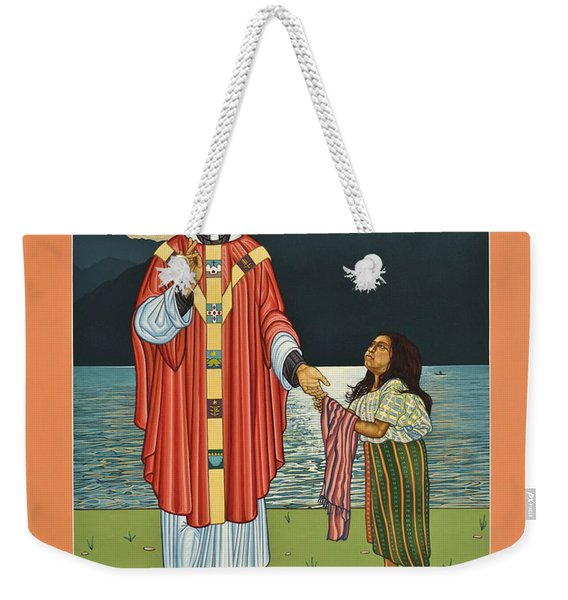 Bl. Stanley Rother - Lwsro Weekender Tote Bag