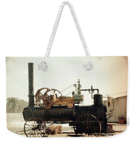 Black And Glorious Steam Machine Weekender Tote Bag