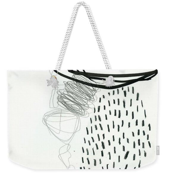 Black And White # 11 Weekender Tote Bag