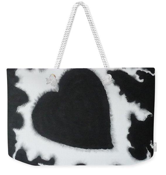 Black And White-4 Weekender Tote Bag