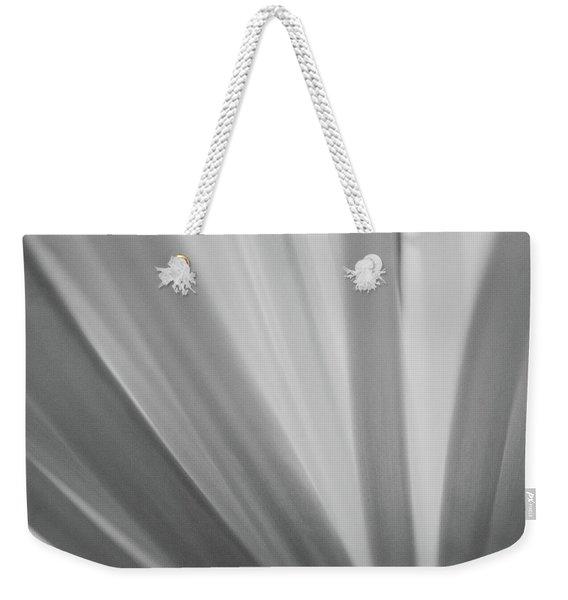 Black And White Mum Petals Weekender Tote Bag