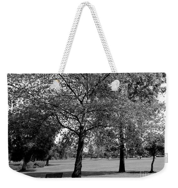 Black And White Nature Weekender Tote Bag