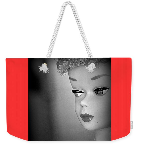 Black And White Reproduction Weekender Tote Bag