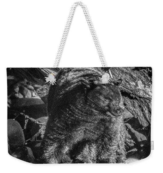 Black Bear Creekside Weekender Tote Bag