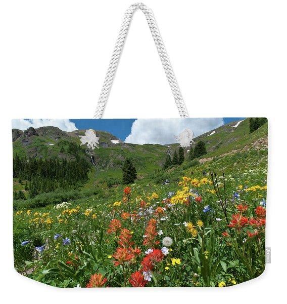 Black Bear Pass Landscape Weekender Tote Bag