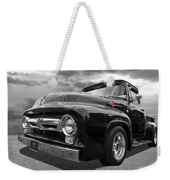 Black Beauty - 1956 Ford F100 Weekender Tote Bag