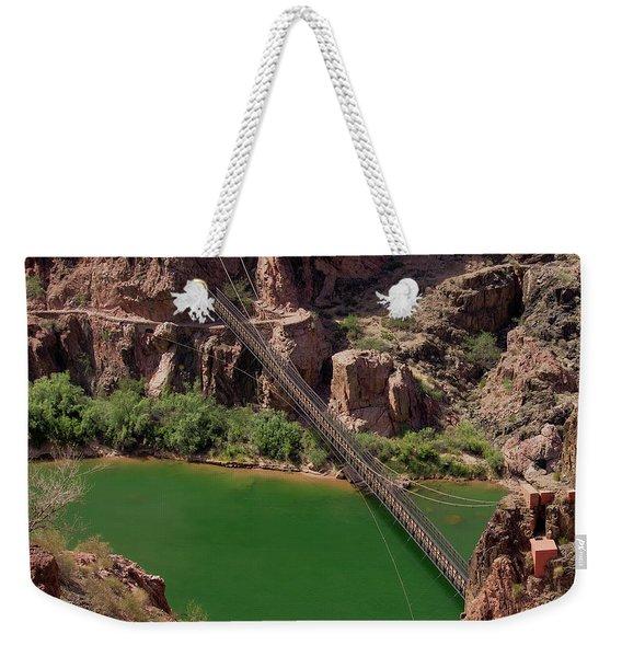 Black Bridge, Grand Canyon  Weekender Tote Bag