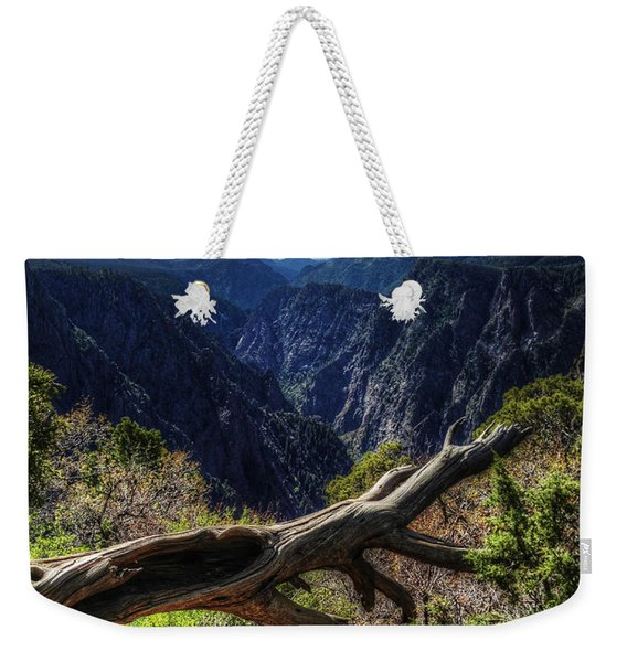 Black Canyon Of The Gunnison First Look Weekender Tote Bag