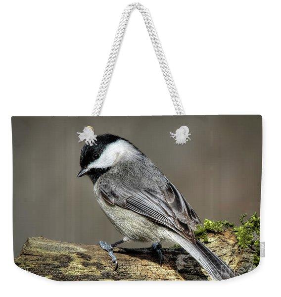 Black-capped Chichadee Weekender Tote Bag