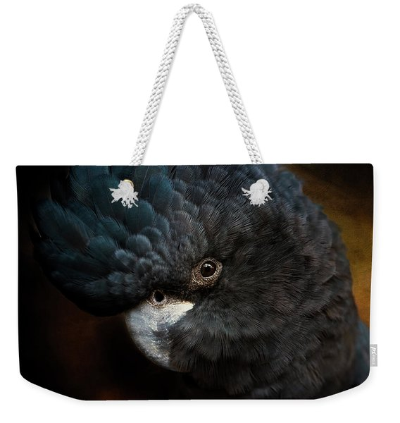 Black Cockatoo Weekender Tote Bag