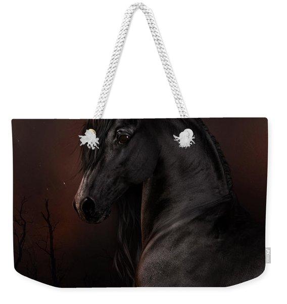Black Dawn Weekender Tote Bag
