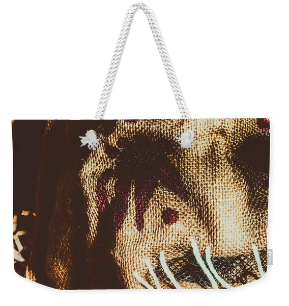 Black Eyes And Dried Out Hearts Weekender Tote Bag