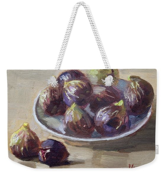 Black Figs Weekender Tote Bag