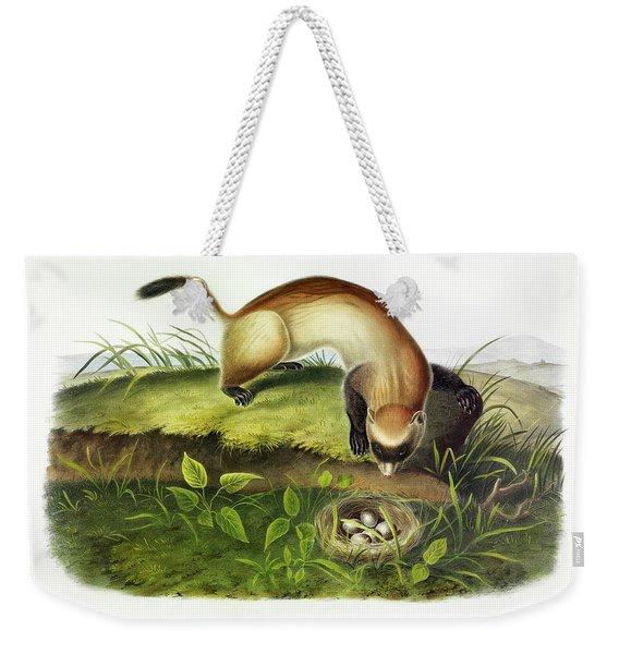 Black-footed Ferret Weekender Tote Bag