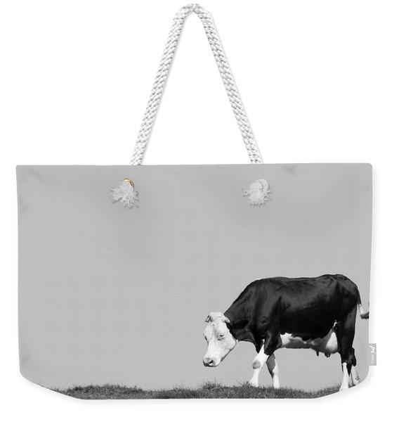 Black Hereford Weekender Tote Bag