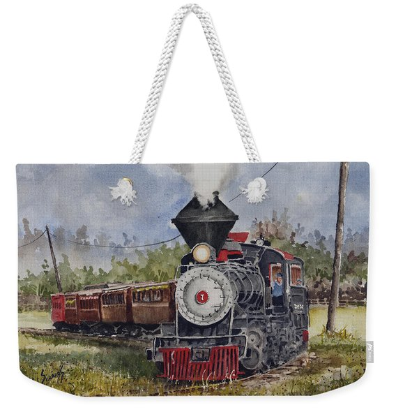 Black Hills Central Number 7 Weekender Tote Bag