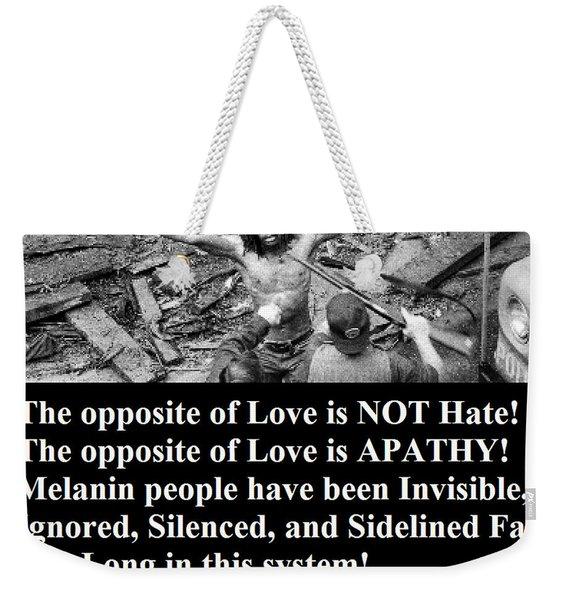 Black Lives Weekender Tote Bag