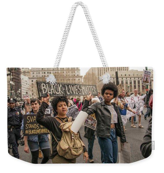 Black Lives Matter Weekender Tote Bag