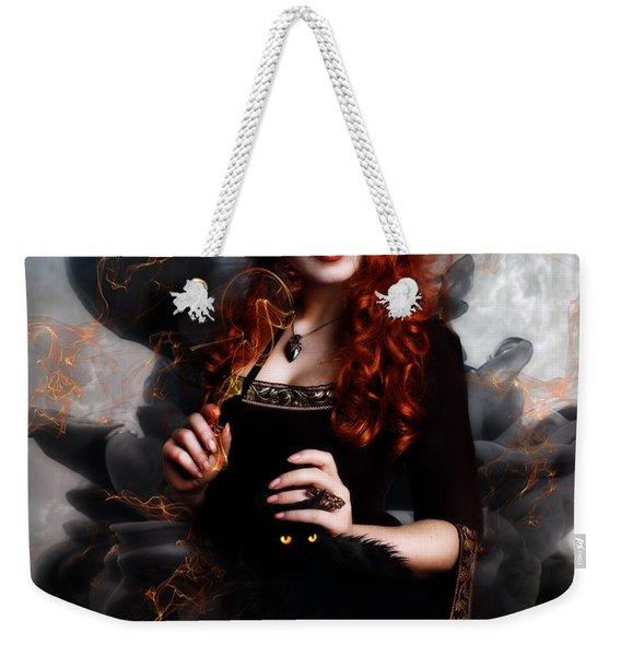 Black Magic Weekender Tote Bag