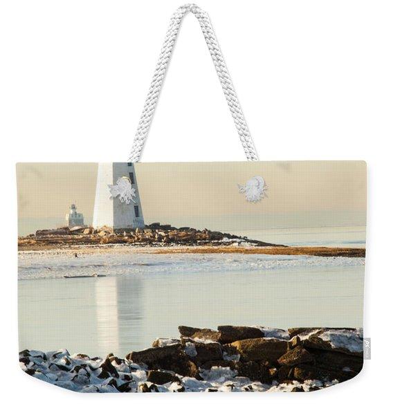 Black Rock Harbor Weekender Tote Bag