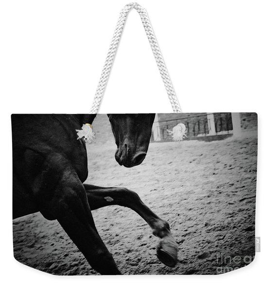 Black Stallion - Poster Weekender Tote Bag