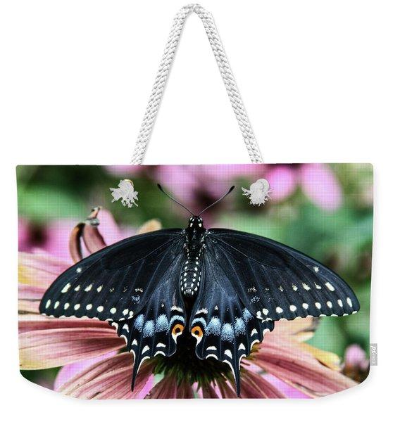 Black Swallowtail 3 Weekender Tote Bag