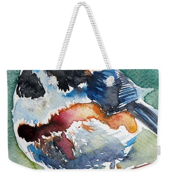 Black- Throated Tit Weekender Tote Bag
