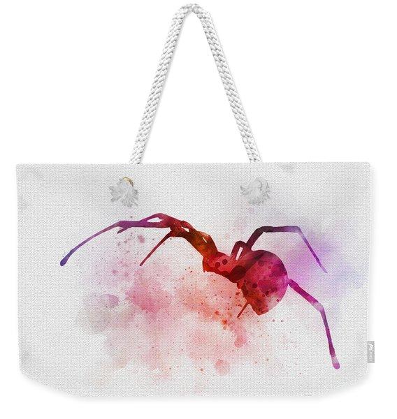 Black Widow Spider Weekender Tote Bag
