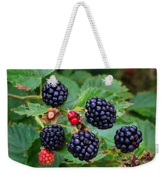 Blackberries 2 Weekender Tote Bag