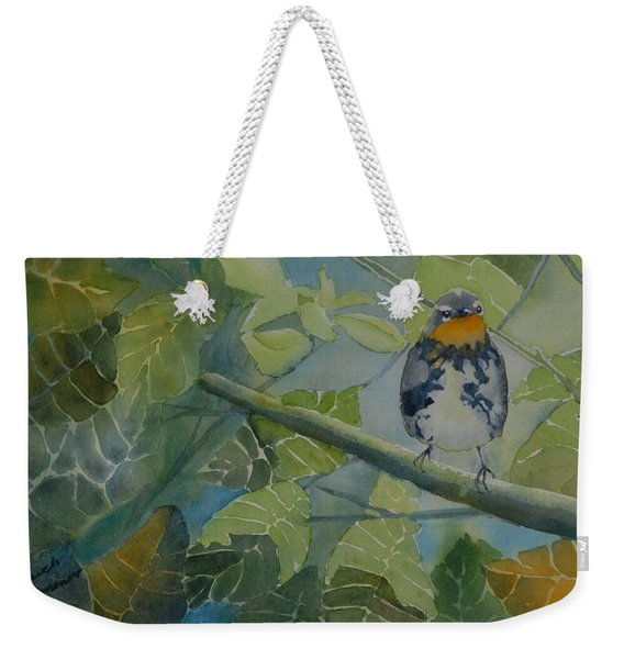 Blackburnian Warbler I Weekender Tote Bag