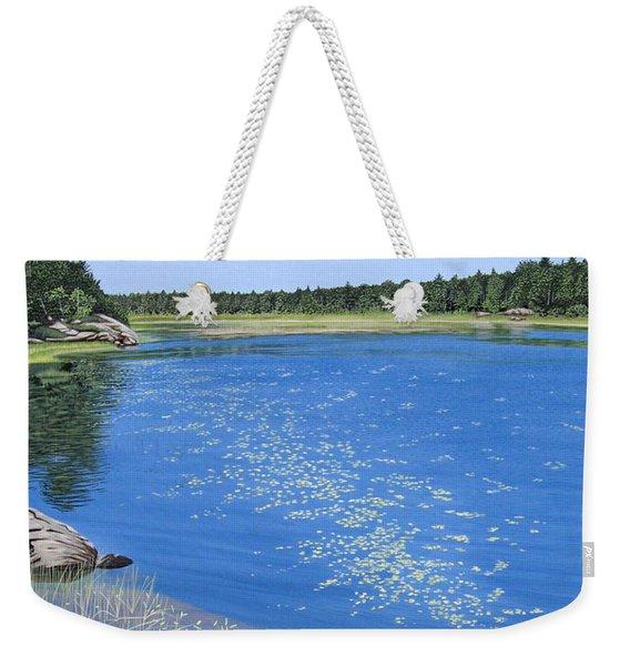 Blackstone Bog Weekender Tote Bag