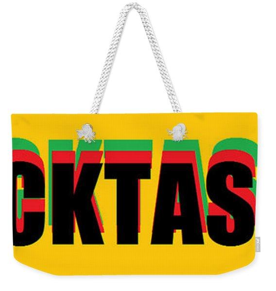 Blacktastik Weekender Tote Bag