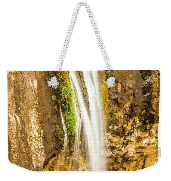 Blackwood Forest Waterfall Weekender Tote Bag