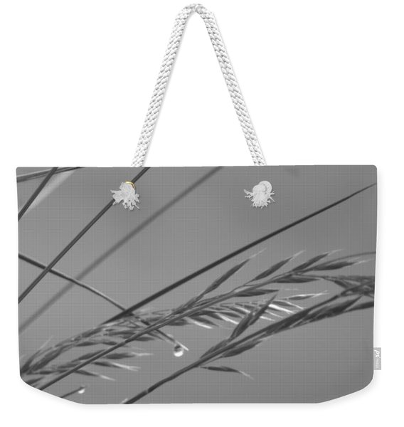 Blades Of Gray Weekender Tote Bag