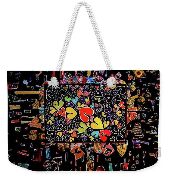 Blanket Of Love  Weekender Tote Bag