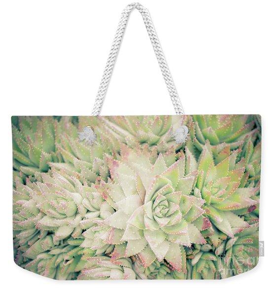 Blanket Of Succulents Weekender Tote Bag