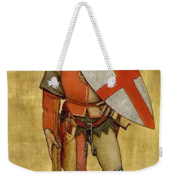 Blanket Of The Armed Saint George Guild Weekender Tote Bag