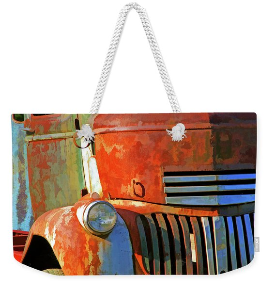 Blast From The Past 6 Weekender Tote Bag