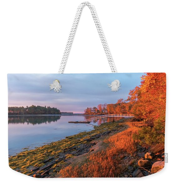 Blazing Shore Weekender Tote Bag