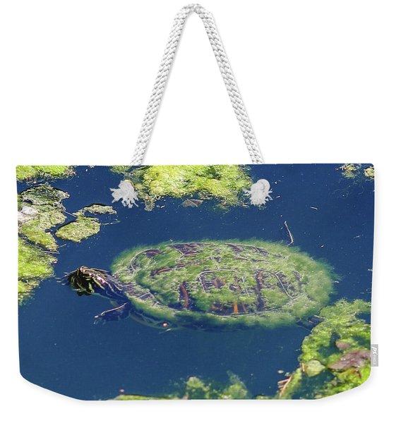 Blending In Turtle Weekender Tote Bag